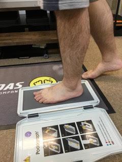 足圧、足型の評価